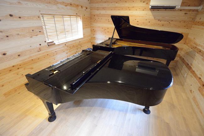 ピアノ:スタインウェイ フルコンサートグランド・ボストン