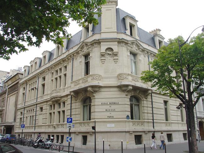 パリ エコール・ノルマル音楽院